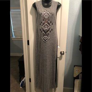 Express Grey Maxi Dress